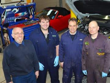 Driffield Garage Team