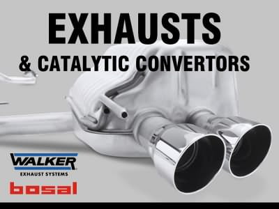 Exhausts and Catalytic Convertors